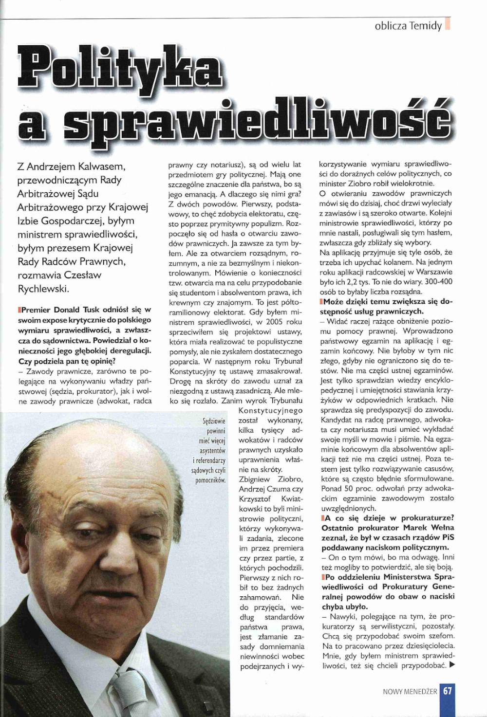 Mec. Andrzej Kalwas
